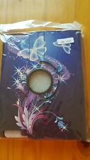 Brand new iPad 2/3/4 case purple butterfly