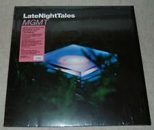 MGMT - Late Night Tales 2011  2 LP Set Night Time Stories