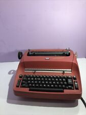 Vintage Ibm Selectric 1 Model 72 Electric Typewriter Red Parts Only