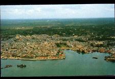 POINTE-A-PITRE (GUADELOUPE) PORT & VILLE en vue aérienne en 1957