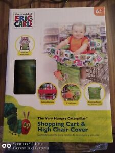 Shopping Cart & High Chair Cover The Very Hungry Caterpillar Eric Carle