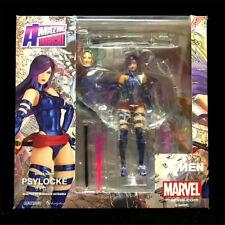 X-Men Psylocke PVC Figure Toy Movable 16cm New