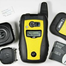 Motorola i580 Yellow (Direct Talk) PTT Radio Rugged - iConnect / unlocked