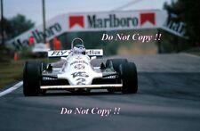 CARLOS REUTEMANN Williams FW07C vincitore BELGA GRAND PRIX 1981 fotografia 1