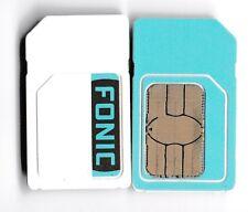 2 x FONIC PREPAID SIM HANDY KARTE O2 NETZ SOFORT ANRUFEN STARTKLAR EINSATZBEREIT