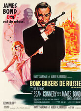 James Bond: * From Russia With Love * French Poster 1963 Large Format 24x36