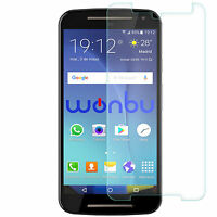 "Protector Pantalla Cristal Templado Para Motorola Moto G2 Xt1068 Xt11063 2014 5"""