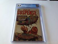 TALES OF SUSPENSE 29 CGC 5.5 MARTIAN WHO STOLE A CITY DITKO KIRBY MARVEL COMICS