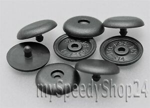 Autogurt PKW KFZ Gurtstopper Sicherheitsgurt Kunststoff Stopper Knopfe x10 Stück