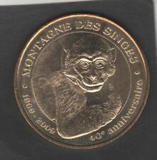 MONNAIE DE PARIS 2009 - KINTZHEIM - LA MONTAGNE DES SINGES (67) - TTB
