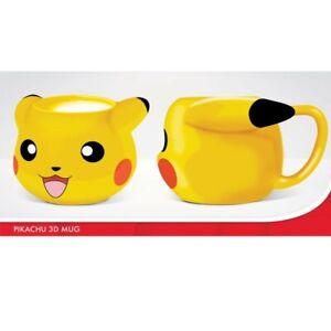 Lizenzierte Pokémon 3D Tasse Pikachu Kaffeetasse Mug 320ml