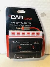 mCar Ic 900 Cassette to Aux Universal Adapter for Mobile Mp3 Cd in your Car New