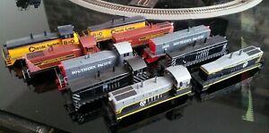 """EMD Cow Calf TR2, TR3, TR4, TR5, TR6 """"shell only"""" sets. UP, Santa Fe, CNW etc"""