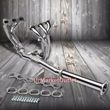 Stainless Steel Exhaust Header Manifold For 07-08 Hyundai Tiburon 2.7L V6 DOHC