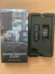 Davinci Resolve Studio 17 USB Dongle for license (Comes with Dongle SD card )