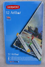 Derwent Artbar Set In Beautiful Keepsake Tin 12 Colors ~ **NEW**
