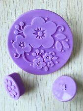 14pcs Flower Cup Cake decoration mold Turn Fondant Printing Mold Stamping Mold