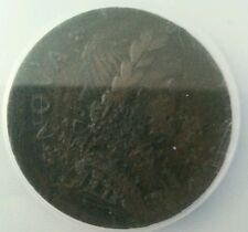 1787 nova eborac seated figure facing right xf extremely fine details NCS