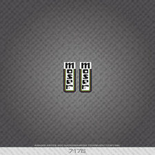 07176 Moser Bicycle Head Badge Stickers - Decals - Transfers