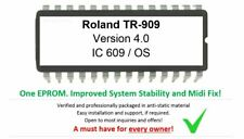Roland TR-909 OS 4.0 EPROM Firmware Upgrade [Midi Timing Fix] TR909 Drummachine