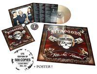 NITROGODS - RATS & RUMOURS (CLEAR)  VINYL LP + CD NEW!