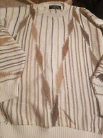 Protege Collection Mens Sweater Sz XL Crewneck Coogi Cosby Biggie Hip Hop new