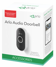 Arlo Audio Doorbell Add on Accessories - Pairs with Arlo Cameras (AAD1001) [LN]™