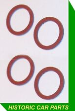 4 x SU Petrol Pump Banjo Sealing Washers for MGA 1600 Twin Cam 1955-62