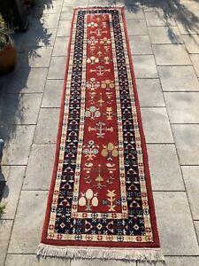 Azeri Teppich Carpet Rug Orient Art Antik Perser Kunst Vintage Gabbeh Galerie XL