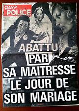QUI ? Police 28/06/1979; Serge Saqué de Cabestany/ Judith Lannon Abattu/ GuiGny