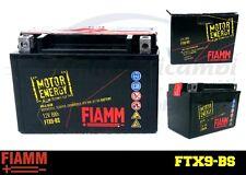 BATTERIA MOTO FIAMM FTX9-BS 12V HONDA CBR 600 F (PC25) 37KW DAL 01.91 AL 12.94