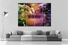 Messi VS ronaldo El Clasico Real Madrid VS Barça Poster Grand format A0