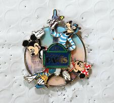 Disney Pin 97565 Dlp Disneyland Paris Mickey Minnie Donald & Goofy spinner