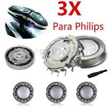 3x Afeitadora Cabezal Cuchilla Genérico para Philips HQ802.HQ803.HQ804;HQ888