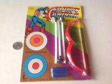 Captain America Eagle Eye Archery Set Toy Unpunched Moc Larami 70S Marvel Mania
