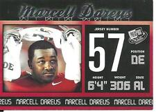 2011 Press Pass #1 Marcell Dareus rookie card, Jacksonvlle Jaguars