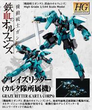 Premium P-BANDAI Gundam IBO Carta Corps Graze Ritter HG 1/144 Model Kit USA