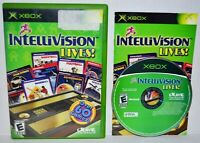 Intellivision Lives (Original Microsoft Xbox, 2004) Complete Video Game