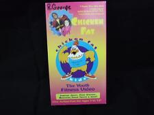 VHS Rare Video Tape Chicken Fat Kids The Youth Fitness Video
