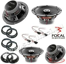FOCAL 4 speakers kit for VOLKSWAGEN / SKODA / SEAT / AUDI spacer rings adapters