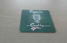 Carlsberg - England Football Shirt Competition Beermat - 2006