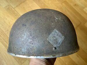 Original ww2 British tank tanker crew armoured Corps helmet c1944