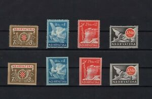 Croatia 1944 - perforated and imperforated set !