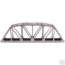 "Atlas #889 - 18"" Through Truss Bridge Kit  (Silver)  HO Scale Code 100 Rails"