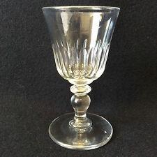 Baccarat hauteur 12 cm verre à vin en cristal fin XIX ème