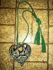 Hanging Potpourri Holder. Metal Hummingbird Design.
