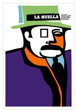 "Cuban movie Poster 4 film""Huella.FINGERPRINT""art Decor.Security screening office"