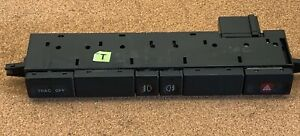 JAGUAR 00-02 XK8 XKR Console Switch Panel  Fog Traction Hazard LJD6292EA