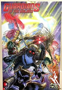 Marvel Guardians Of The Galaxy 75th Anniversary Comic Poster 2014 Size 24x36