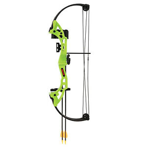 Bear Archery Brave Right Hand Youth Bow Set, 6 Colors Available